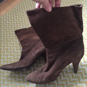 Sigerson Morrison Brown Suede Boots size 9